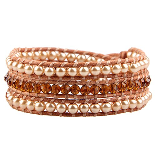 Kelitch Natural Crystal Bracelet Handmade
