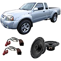 Fits Nissan Frontier 1998-2004 Front Door Factory Replacement Harmony HA-R65 Speakers