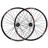 Binglinghua 1 Pair Mavic Crossride CR 29'' 6-Bolt Disc Mountain Bike MTB Bicycle Wheelset Front 9mm 15mm