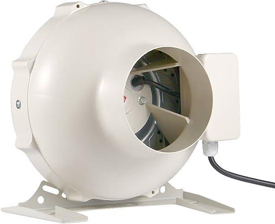 Hon&Guan Extractor de Aire en Línea 200mm - 950m³/h Ventilador de ...
