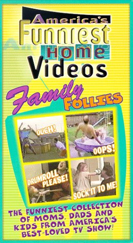 Americas Funniest Home Videos Family Follies [VHS]