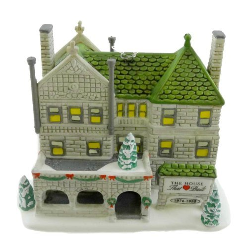 Dept 56 Accessories The First House That Love Built Christmas Ornament - Porcelain 3.00 IN by DEPT 56 ACCESSORIES by Department 56