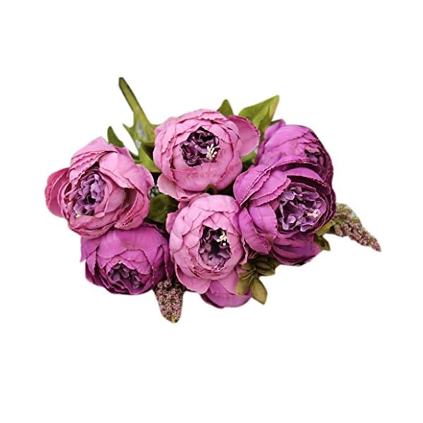LINGERY-1-Bouquet-8-Heads-Artificial-Peony-Silk-Flower-Leaf-Decor-for-Home-Garden-Hotel-Birthday-Flowers-Party-Bunch