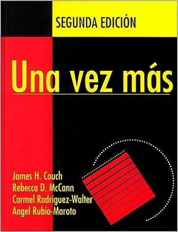 Amazon una vez ms repaso detallado de las estructuras una vez ms repaso detallado de las estructuras gramaticales del idioma espaol spanish 2nd edition fandeluxe Choice Image