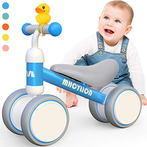 Baby Balance Bikes Toys for 1 Year Old Boys Girls 10-24 Months Cute Toddler First Bicycle Infant Walker Children No…