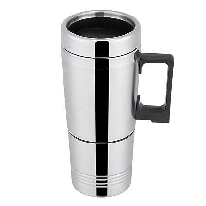 GLOGLOW Taza de la calefacción del Coche, 12V / 24V 300ml Tazas de Agua del