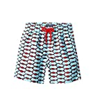 Vilebrequin Kids  Baby Boy's Fishnet Swim Trunk (Toddler/Little Kids/Big Kids) Blue Swimsuit Bottoms