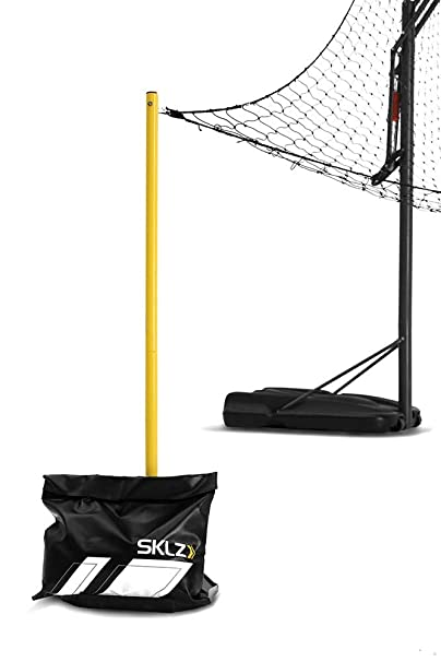 SKLZ Rapid Fire 2 Basketball Return Net Yellow