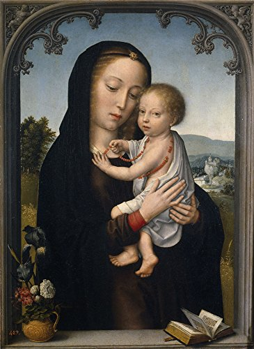 Textiles Focus Area Costume (Oil Painting 'David Gerard Virgin With Child Ca. 1520 ' Printing On High Quality Polyster Canvas , 24 X 33 Inch / 61 X 84 Cm ,the Best Gym Gallery Art And Home Decoration And Gifts Is This Imitations Art DecorativePrints On Canvas)