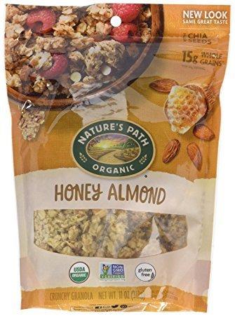 Nature's Path Organic Honey Almond 11 oz (Pack of 3)