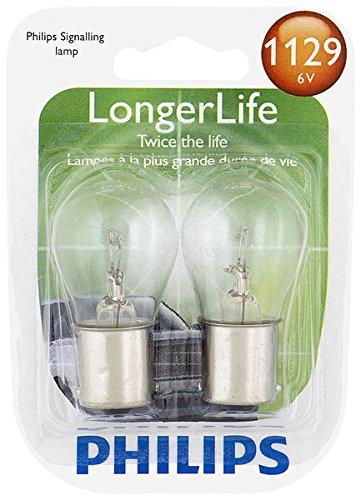 - Philips 1129 LongerLife Miniature Bulb, 2 Pack