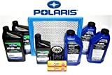 2013-2014 POLARIS RZR 900/S Complete Service Kit Oil Change Air Filter