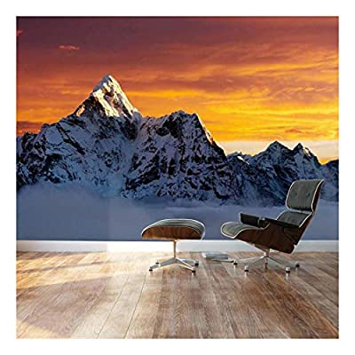 Lovely Piece of Art, That You Will Love, AMA Dablam on The Way to Everest Landscape Wall Mural