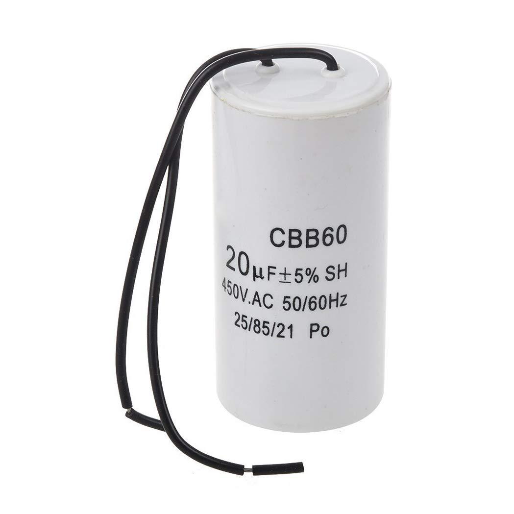 SeaStart CBB60 20uF Kondensator SH Motor Blei-Zylinder AC 450V