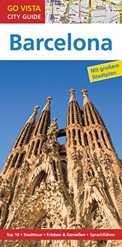 GO VISTA: Reiseführer Barcelona (Mit Faltkarte) (German Edition)