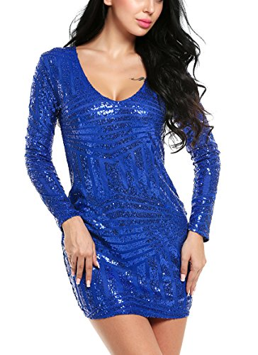 Sequin Trimmed Dress - 4