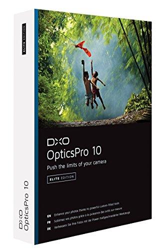 DxO Labs Optics Pro 10 Elite Edition Photo Enhancing Software for Macintosh & Windows - for Full Frame & Crop Format ()