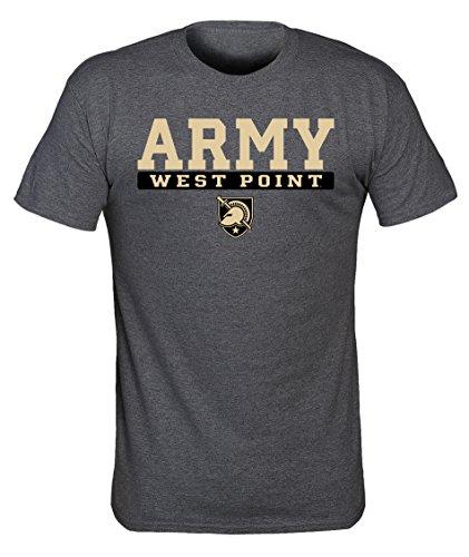 - Old Varsity Brand NCAA Army Black Knights Mens NCAA Screenprinted Poly Cotton Blend Tee, Dark Heather, X-Large