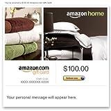 Amazon eGift Card - Amazon Home (Ecard Gift Certificate)