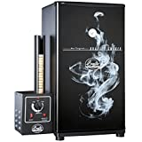 Bradley Smoker BS611 Original Smoker, 33.5 x 17.5 x 20.25-Inch Black