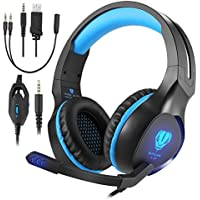 Butfulake Gaming Headset for Xbox One PS4 PlayStation 4...