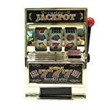Mini Casino Jackpot Fruit Slot Machine Moneybox Game Toy For Kids Money Bank Slot Jackpot Game