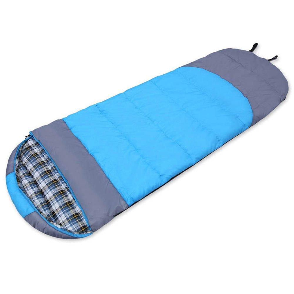 LWFB エンベロープ寝袋/大人アウトドアキャンプハイキングコットン長方形の寝袋(圧縮袋付)(2色展開可能) B07CHGFSMR 2#|B B 2#