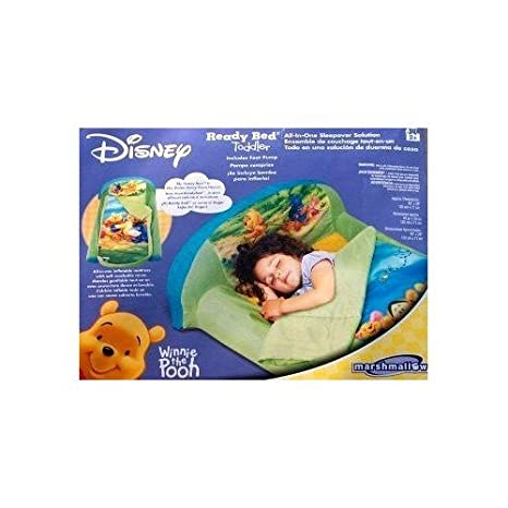 Amazon.com: Disney Winnie the Pooh bebé Ready cama hinchable ...