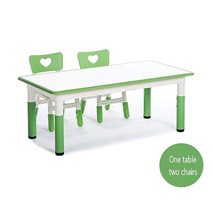 Sensational Amazon Com Kindergarten Childrens Desks And Chairs Set Can Inzonedesignstudio Interior Chair Design Inzonedesignstudiocom