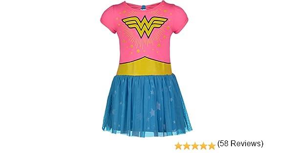 DC Comics Wonder Woman Vestido de Verano Tul - Disfraz de Fantasía ...