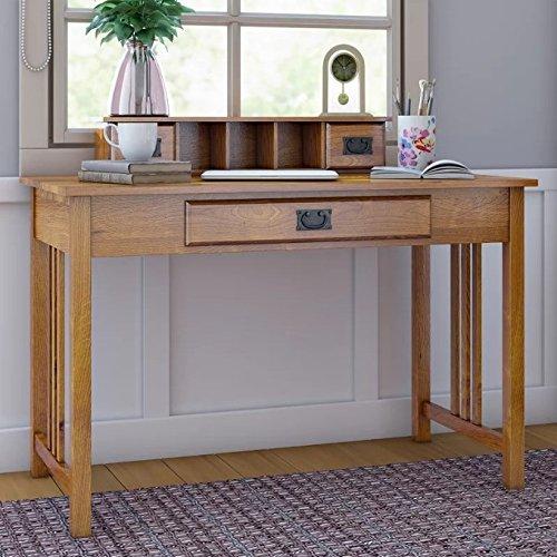 Madera maciza escritorio de la oficina Vintage mesa muebles hogar ...
