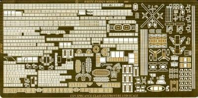 1/350 Spruance Class Destroyer Detail Set