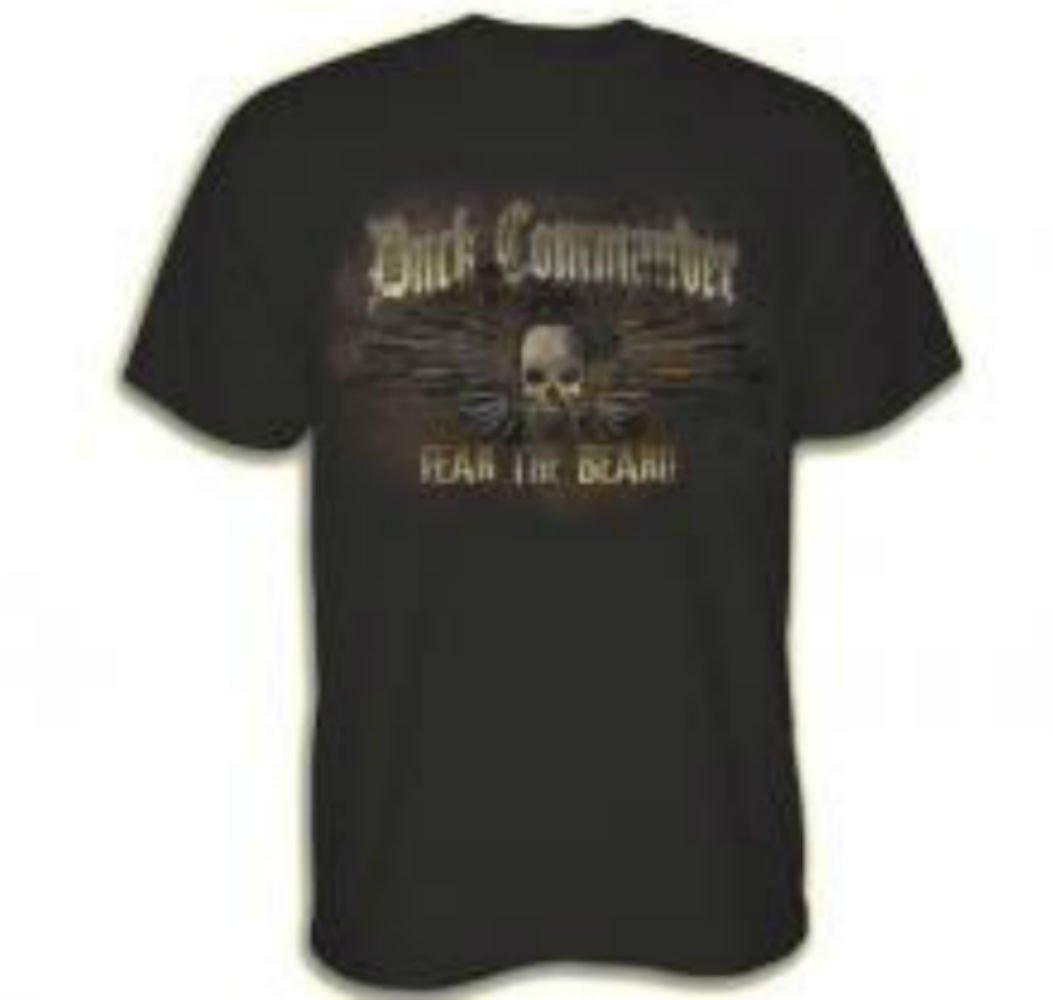 Duck Commander Fear The Beard, Guns T-Shirt (Small) by DUCK COMMANDER