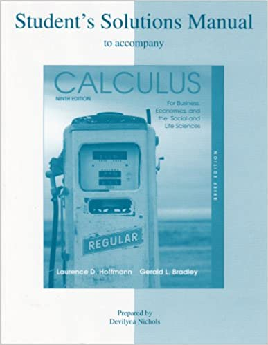 Calculus: early transcendental functions: student solutions manual.