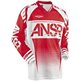 Answer Racing A17.5 Syncron Air Boys Off-Road Motorcycle Jerseys - Red/White / Small