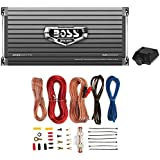 NEW Boss Audio AR2000M 2000W MONO A/B Car Amplifier + 8 Gauge Amp Install Kit