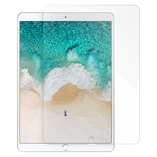MoKo Compatible with New iPad Air (3rd Generation) 10.5 2019 & iPad Pro 10.5 2017 Screen Protector, 9H Hardness Tempered Glass Film - Crystal Clear