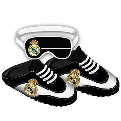 Real madrid zapatillas talla xl escudo (bamba): Amazon.es: Zapatos y complementos