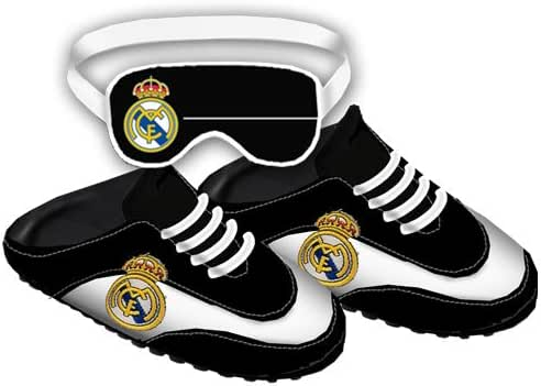 Real madrid zapatillas talla xl escudo (bamba): Amazon.es: Zapatos ...