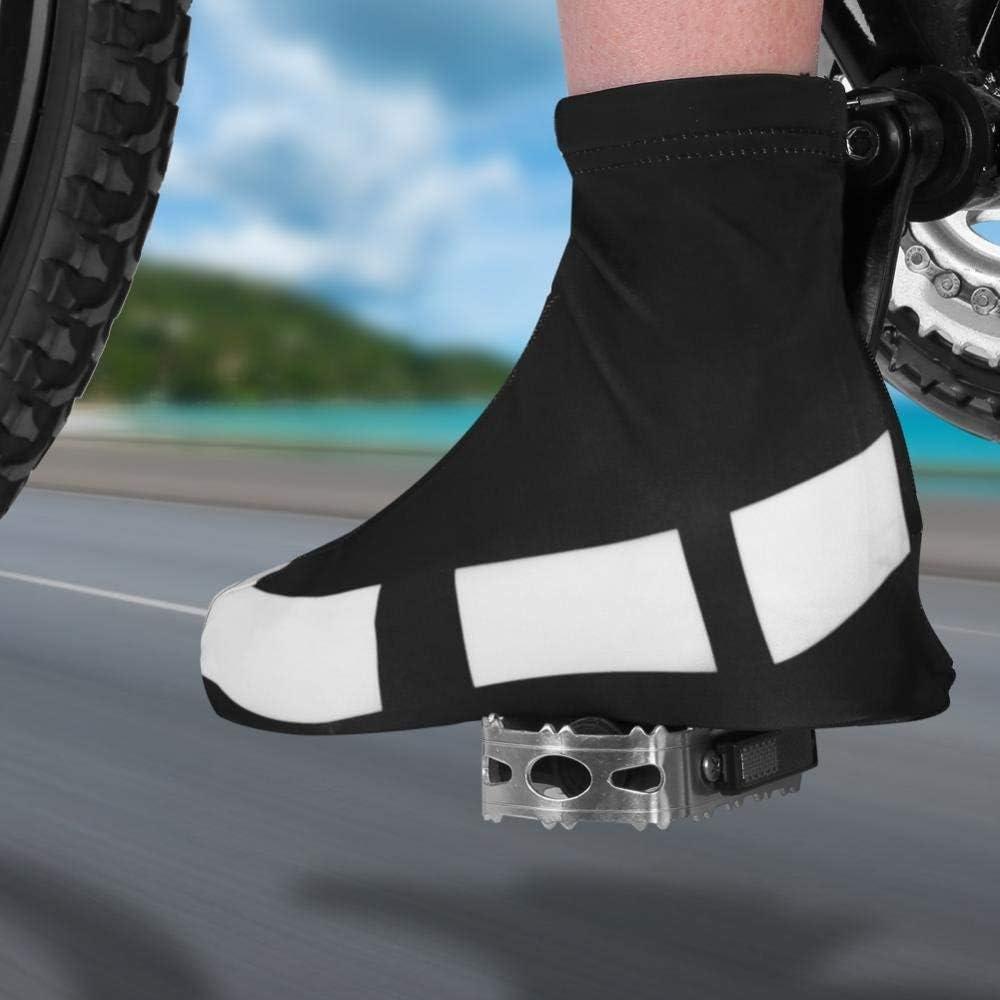 Amasawa 1 Paire V/élo Chaussure Couvre Protege Chaussures Couvre Cyclisme Etanche Thermique Couvre Chaussures, 4XL