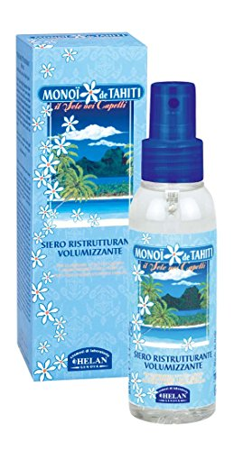 Helan Monoi de Tahiti Hair Volumizing and Restructuring Serum – Anti Dryness, Anti Tangle