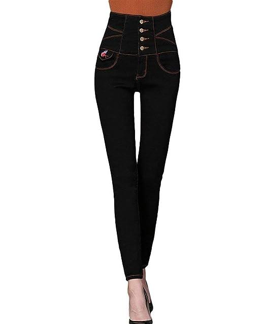 Pantalones Vaqueros Vintage De Las Mujeres De Pantalones ...