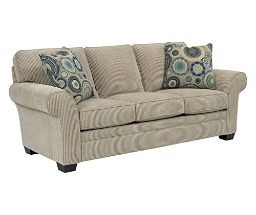 Broyhill Zachary Queen Goodnight Sleeper, Off-White, Beige (Sectional Broyhill Sofas)