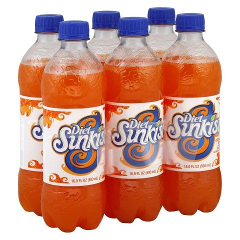 orange soda bottles - 4