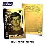 2003 ELI MANNING NY Giants ROOKIE 23K GOLD FOIL Card