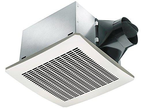 Delta VFB080D4H1 Breez 80 CFM Humidity Sensor Exhaust Fan, Less Than 0.3 Sones -