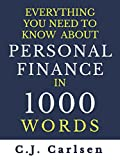 img - for Everything You Need to Know About Personal Finance in 1000 Words book / textbook / text book