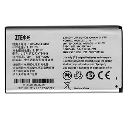 ac30. oem spare replacement battery (1500mah) li3715t42p3h654251 for zte ac30 ac30