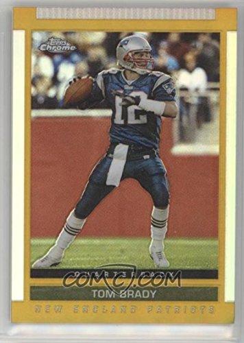 Football NFL 2003 Draft Picks and Prospects Chrome #55 Tom Brady by tom brady