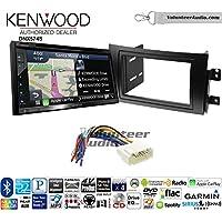 Volunteer Audio Kenwood DNX574S Double Din Radio Install Kit with GPS Navigation Apple CarPlay Android Auto Fits 2007-2013 Suzuki SX4
